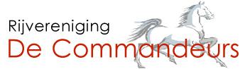 Logo Rijvereniging De Commandeurs
