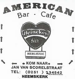 Americanbar - Heemskerk
