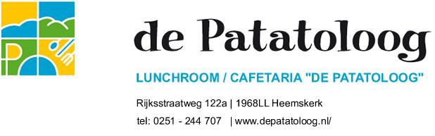 De Pataloog - Lunchroom /  Cafetaria